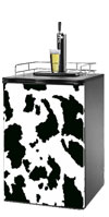Cow Print Kegerator / Mini Fridge Wrap
